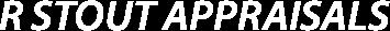 R Stout Appraisals Logo